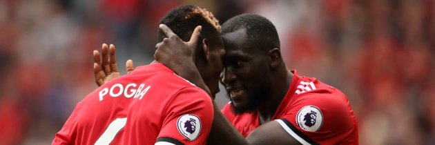 Pogba & Lukaku, Manchester United - © GEPA pictures